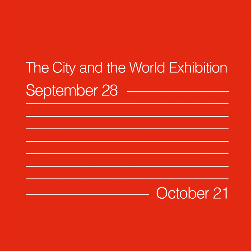 International Architecture Award - The city and the world exhibition